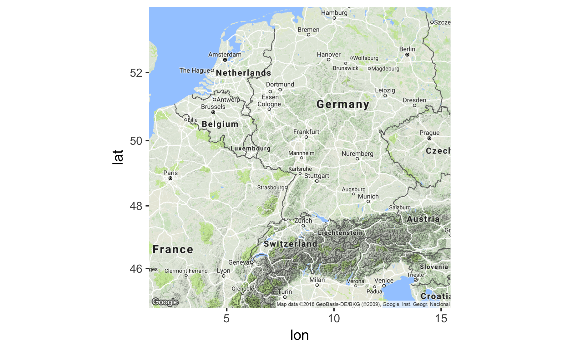 Geocoding with R